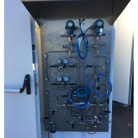 Conteneur – shelter technique génération d'azote industriel