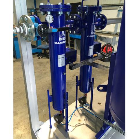Skid filtration d'air comprimé industriel
