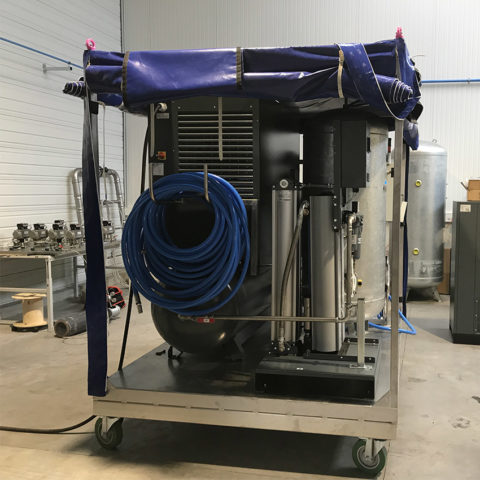 Générateur air comprimé respirable