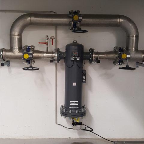 filtres à air comprimé industriel